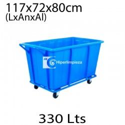Carro de lavandería HL Culinan azul